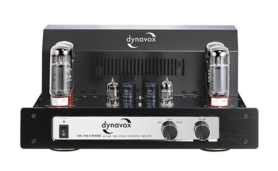 Dynavox VR-70E II Phono Chrome